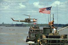 Sang Haam Luong River, Vietnam --- An American Navy Tango boat on the Sang Haam Luong River, also known as the Lower Mekong River. Vietnam History, Vietnam War Photos, Us Veterans, Vietnam Veterans, Military Veterans, American War, American History, Brown Water Navy, Army Usa