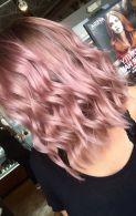 Beautiful Rose Gold Hair Color Ideas 38