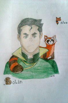 #Bolin from #AvatarTheLegendOfKorra #Bolin #EarthBender #Pabo #art