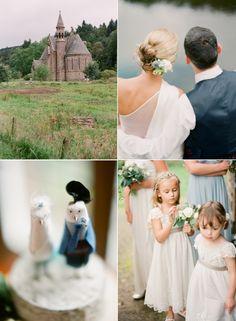 Scottish Castle Wedding from Edward Osborn Photography