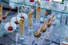 Delicious hors d'oeuvres for your guests during the cocktail hour #NowSapphireRivieraCancun #Mexico #DestinationWedding