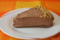 Nutella cheesecake ~ 3 ingredients..