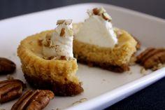 Pumpkin Goat Cheese Cheesecake