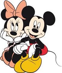 Valentines For > Mickey And Minnie In Love Coloring Pages Disney Mickey Mouse, Mickey Mouse E Amigos, Mickey E Minie, Mickey And Minnie Love, Mickey Mouse Cartoon, Mickey Mouse Ears, Mickey Mouse And Friends, Minne, Walt Disney