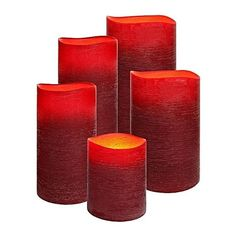 Experience a more romantic hue in your home with the flicker and glow of the Flameless Poppy Red Distressed Wax Candle from Enjoy Lighting. Buy online with 30 …