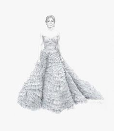 Drawing Fabric: Fashion Illustration Tips on Craftsy.com