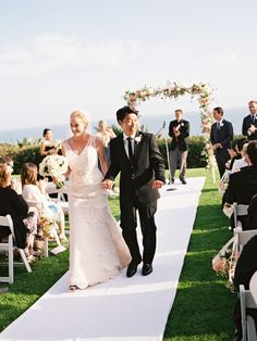 Classic and timeless, Emily and Augie's wedding at the Bel Air Bay Cluball about tradition and elegance. We adorethe sophisticated fashion (how lovely is Emily's Moonlight Bridalgown?) and stunn...