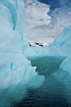 Iceberg along Antarctic Peninsula.