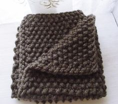 (6) Name: 'Knitting : Chunky baby blanket great for begginers