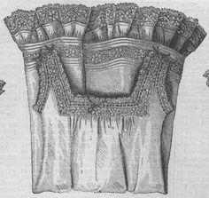 Chemise from The Young Ladies' Journal 1881