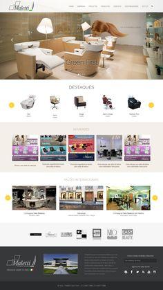 Desenvolvimento do site de exposição dos produtos da empresa.