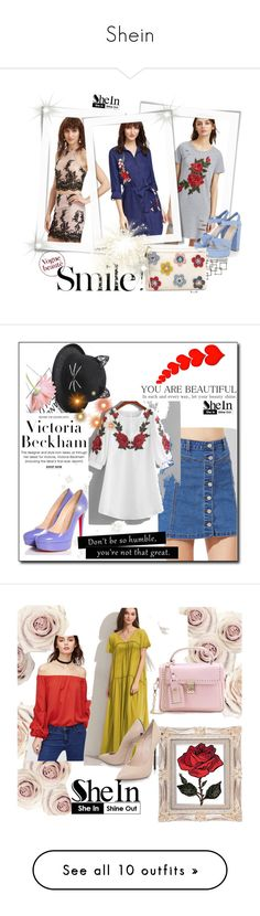 """""""Shein"""" by ajisa-ikanovic ❤ liked on Polyvore featuring Crate and Barrel, Victoria Beckham, Chanel, By Lassen, Élitis, Bobbi Brown Cosmetics, Riedel, vintage, Whiteley and Kershaw"""