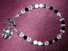 Custom ordered bracelet, ordered by a Facebook friend as a birthday gift for another Facebook friend!