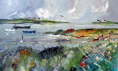 Le peintre breton Christian Sanséau expose à l'Atelier De Roeck