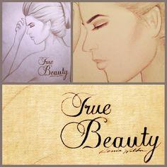 True beauty. Womens face drawing, art, shading