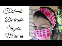 Easy Face Masks, Diy Face Mask, Protective Mask, Diy Mask, Pattern Making, Diy And Crafts, Sewing Projects, Personal Care, Youtube