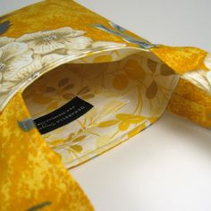 SLING BAG  Sunshine and Butter Yellow with Ivory by Denarella