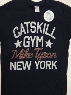 Iron Mike Tyson Catskill Boxing Club Gym New York-T-shirt Homme
