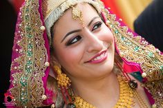 This is a beautiful Indian Kashmiri bride...read her interesting wedding story on www.weddingsonline.in/blog