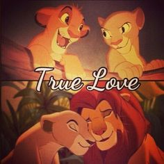 Simba and Nala (Jason and Sarah) :*