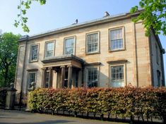 Camphill House, Queen's Park, Glasgow designed by David Hamilton circa 1800. Converted to flats.