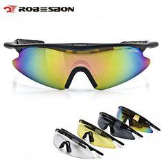abffa18310 ROBESBON Cycling Glasses Men Women Outdoor Sport Mountain Road Bike Sun  Glasses MTB Bicycle Motorcycle CS