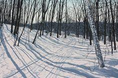 Solitude woodblock print by JeanneAmatoPrints on Etsy Landscape Art, Landscape Paintings, Linocut Prints, Art Prints, Block Prints, Paint Photography, Winter Art, Winter Storm, Dibujo