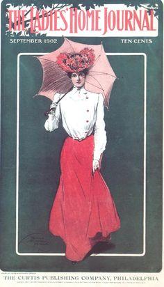 Thomas Mitchell Peirce - Ladies Home Journal Magazine cover (September, 1902)