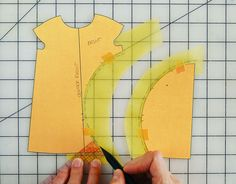 Color blocking involves a simple patternmaking step, and once you understand the process you'll be able to add your own color blocking to customize your sewing.