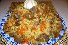 The most tasty pilaf Ukrainian Recipes, Russian Recipes, Russian Foods, I Love Food, Good Food, Yummy Food, Fish And Chicken, How To Cook Rice, Rice Dishes