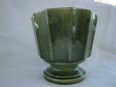 Green Haeger Pottery Planter/ Haeger #302 Planter
