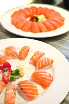 If reincarnation truly exists, I will return as an Alaskan Brown Bear so I can eat Fresh Salmon sushi everyday