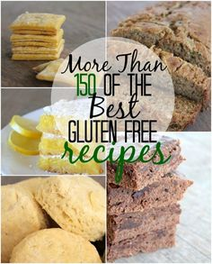 Gluten-Free Recipes Over 150 amazing Gluten-Free Recipes here! From main dishes, to desserts, condiments, and even drinks. An amazing resource for any food-allergy family!