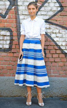 Jenny Walton from Street Style at Milan Fashion Week Spring 2016 | E! Online