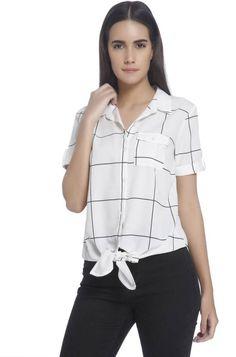 6dc6fefbb2d6 Vero Moda Women's Checkered #Casual #Shirt #absolutefashionista #fashion  #fashionista #fashionblogger #style #stylish #kurti #women #womensfashion #  ...