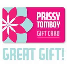 The Prissy Tomboy Gift Card