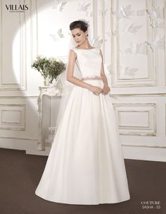 SASHA | Wedding Dress | 2015 Couture Collection | by Sara Villaverde | Villais