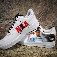 - 1 pair of authentic Nike Air Force 1 - permanent paint - no patches, vinyl or bs - the paint lasts till the shoes last - 10 butterflies - 4 painted sides - many compliments from others Nike Air Max, Air Max 1, Nike Shoes Air Force, Custom Sneakers, Custom Shoes, Sneakers Nike, Custom Jordans, Gold Sneakers, Foot Locker