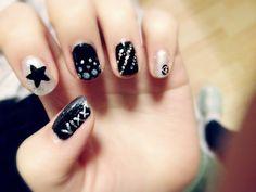 VIXX inspired nail art