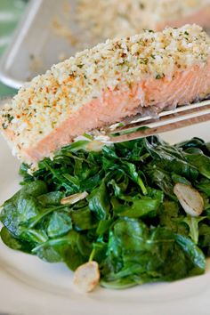 recipe: panko horseradish crusted salmon recipe [12]