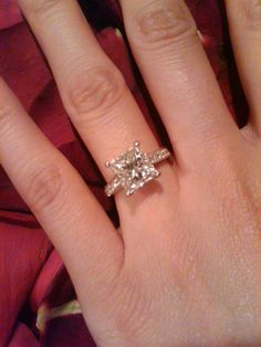 Wedding Ideas Different Engagement Rings Ideas For 2019 Different Engagement Rings, Disney Engagement Rings, Princess Cut Engagement Rings, Platinum Engagement Rings, Beautiful Engagement Rings, Solitaire Engagement, Beautiful Rings, Engagement Ideas, Simply Beautiful