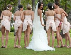 Ya reckon they all went at the same time? ... ... ... ... ... ...14 more funny wedding pics
