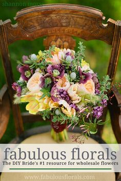 Buy Gorgeous,Fresh Flowers for your wedding! Buy Bulk wholesale flowers at Fabulous Florals online : www.bulkwholesaleflowers.com #weddingflowers #wildflower #organicbouquet  Shannon Morse Photo