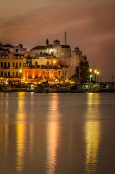 Skopelos Castle by Night - Greece