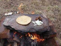 How to Cook with Rocks teaches you a trick to use rocks to cook your food without burning it.