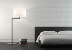 Bedroom interior with Haus tiles