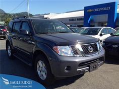2012 Nissan Pathfinder  4WD 4.0L V6 Auto w/ Backup Camera for sale at Eagle Ridge GM in Coquitlam, near Vancouver!  http://eagleridgegm.com http://facebook.com/eagleridgegm http://twitter.com/eagleridgegm