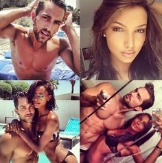 Jasmine and Tobias #bwwm #wmbw They're fuckin hotttt! #SorryNOTsorry. I'm tempted to make a board just for them