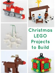 Five (More!) Christmas LEGO Projects to Build (With Instructions!)