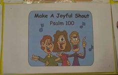 Psalm 100 Memory Booklet | Bible Songs And More